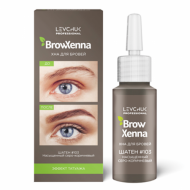 Хна для бровей BrowXenna Шатен #103, насыщен. серо-коричневый 10 мл: фото