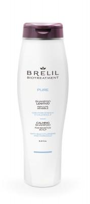 Шампунь восстанавливающий деликатный для чувствительной кожи головы BRELIL Biotraitement Pure 250 мл: фото