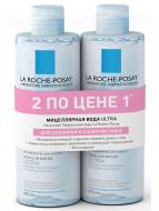Мицелярная вода для реактивной кожи La Roche-Posay ULTRA Physiological Cleansers 400мл*2: фото