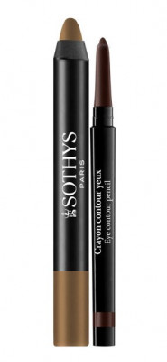 Набор для глаз Sothys Duo Smoky Yeux: Smoky Eye Pencil + Eye Contour Pencil 30. Brun & Kaki Sumba: фото