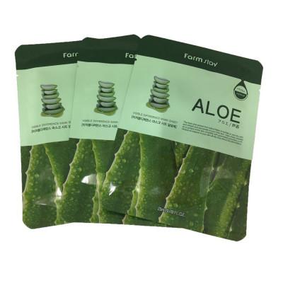 Набор тканевых масок с экстрактом алоэ FarmStay ALOE VISIBLE DIFFERENCE MASK SHEET 23мл*3: фото