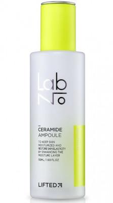 Сыворотка ампульная с гиалуроновой кислотой и керамидами LabNo Lifted Ceramide Ampoule 50 мл: фото