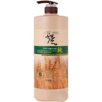 Шампунь-кондиционер для волос Enough 6 Mixed Cereal Shampoo& Rinse 1500мл: фото