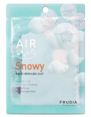Маска обновляющая кремовая Frudia Air Mask 24 Snowy 25 мл: фото