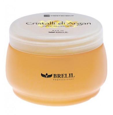 Маска для волос с маслом аргании и молочком алоэ Brelil Argan Oil Crystals 250мл: фото