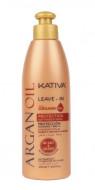 Несмываемый оживляющий концентрат для волос с маслом Арганы Kativa ARGAN OIL 250мл: фото