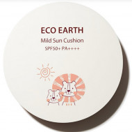 Солнцезащитный кушон THE SAEM Eco Earth Power Mild Sun Cushion Lion Edition 12г: фото