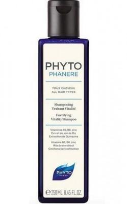 Оздоравливающий укрепляющий шампунь PHYTOSOLBA PHYTO PHYTOPHANERE SHAMPOOING TRAITANT NITALITE PHYTO 250 мл: фото