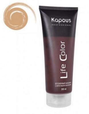 Бальзам оттеночный для волос Kapous Life Color Balm Песочный 200 мл: фото
