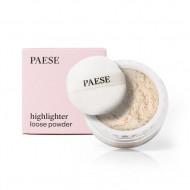 Рассыпчатая пудра-хайлайтер PAESE HIGHLIGHTER loose powder 01 CHAMPAGNE 15г: фото